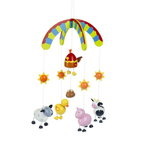 Farm Yard Mobile by Orange Tree Toys - Toyabella.com