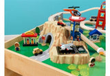 Kidkraft Metropolis Train Set and Table Station - Toyabella.com