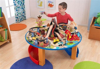 Kidkraft Dinosaur Train Set and Table | Toyabella.com for quality ...