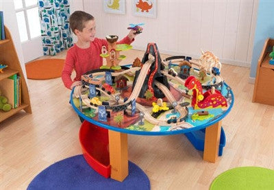Kidkraft Dinosaur Train Set and Table - Toyabella.com
