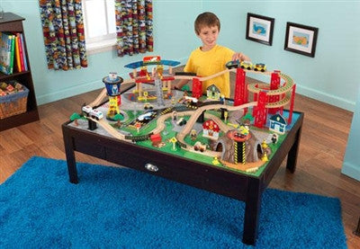 Kidkraft Airport Express Train Set And Table