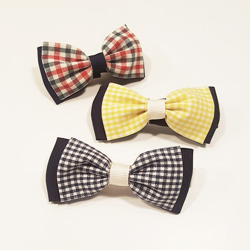 Check Bow Tie by Oli & Belle - Toyabella.com