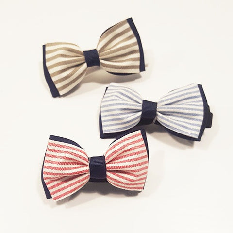 Stripe Bow Tie by Oli & Belle - Toyabella.com