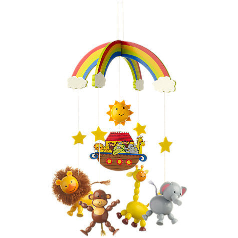 Noah's Ark Mobile by Orange Tree Toys - Toyabella.com