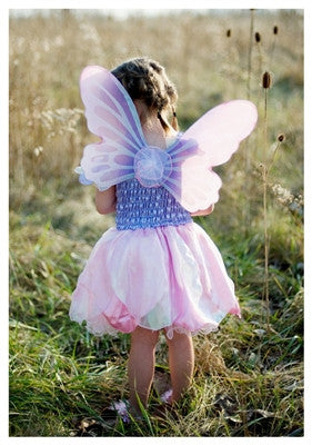 Great Pretenders Cotton Candy Fairy Dress with Wings and Wand - Toyabella.com