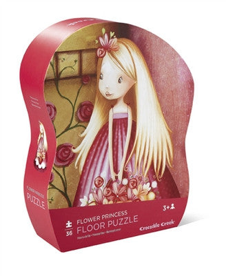 Crocodile Flower Princess Mini 24-piece Puzzle - Toyabella.com