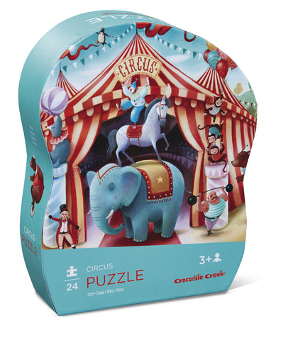Crocodile Creek Circus Mini 24-piece Puzzle - Toyabella.com