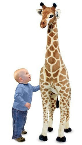 Melissa & Doug Giraffe Giant Stuffed Animal (BACK IN STOCK) - Toyabella  - 2