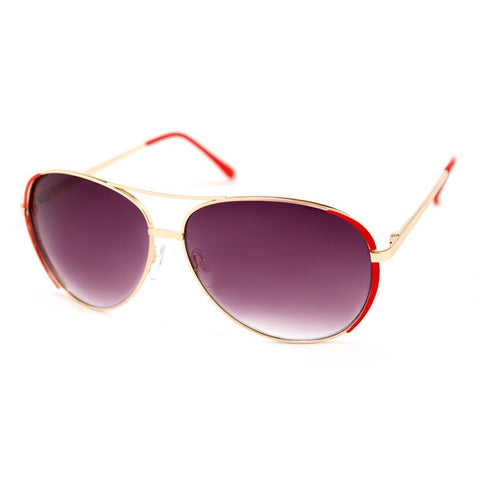 AJ Morgan Eyewear Aviator Sunglasses for Women SIDELINES - Toyabella.com