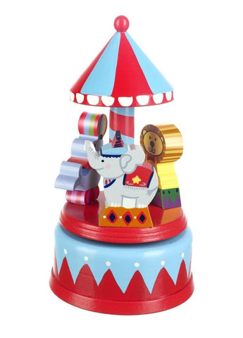 Musical Circus Carousel By Orange tree Toys - Toyabella.com