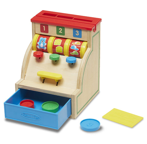 Melissa & Doug Sort & Swipe Cash Register - Toyabella  - 1