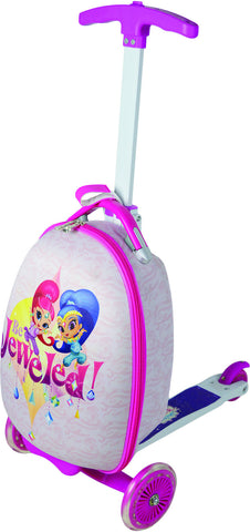Nickelodeon Shimmer and Shine 16 inch Children's Scooter Luggage - Toyabella  - 1