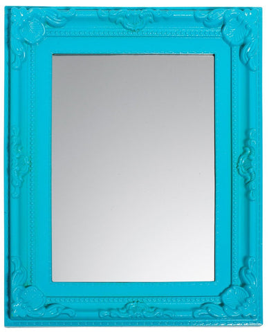 3c4g Three Cheers For Girls Turquoise Baroque Room Mirror - Toyabella.com