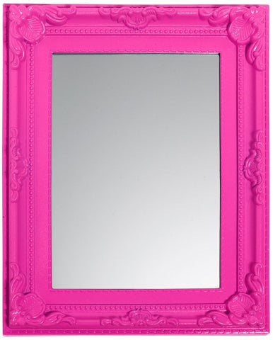 3c4g Three Cheers For Girls Fuchsia Baroque Room Mirror - Toyabella.com