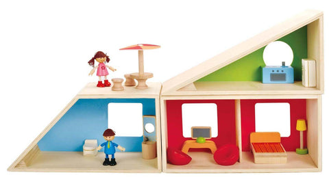 Happy Family - Geometrics Play House by Hape - Toyabella.com
