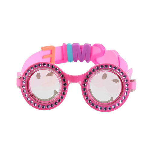 Bling2o Girls Be Happy w Sliders Swim Goggles - Toyabella.com