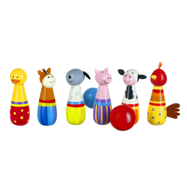 Farm Yard Skittles By Orange Tree Toys - Toyabella.com