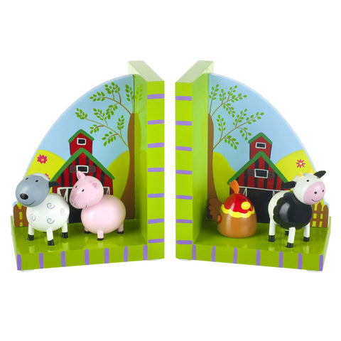 Farm Yard Bookends by Orange Tree Toys - Toyabella.com