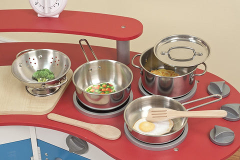 Melissa & Doug Let's Play House Pots and Pans Set - Toyabella  - 1