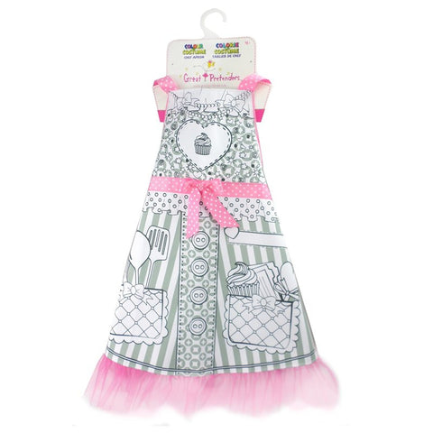 Great Pretenders Color An Apron - Toyabella.com