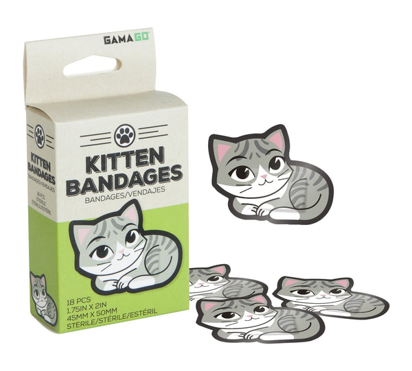 Gamago Kitten Bandages 18 pieces - Toyabella.com