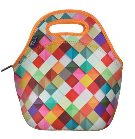 Neoprene Lunch Bag by ART OF LUNCH with Design by Danny Ivan (Portugal) - Toyabella.com