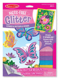 Melissa & Doug Flower and Butterfly Scenes Book - ON the GO Craft Activity - Toyabella  - 1