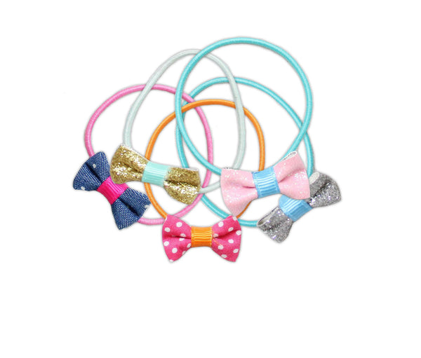 Great Pretenders Fashion Fab Ponytail Holders Set of 5 - Toyabella.com