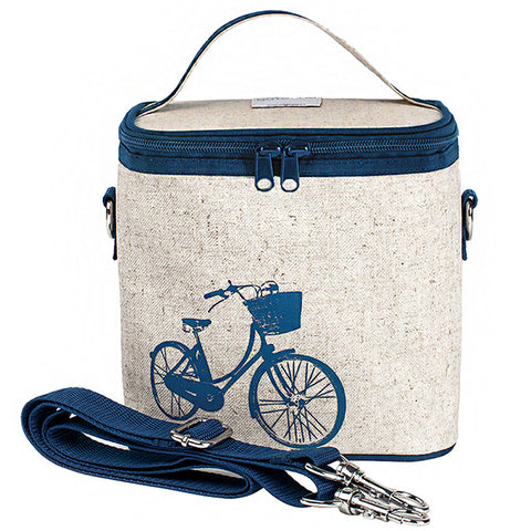 SoYoung Blue Bicycle Large Cooler Bag - Toyabella.com