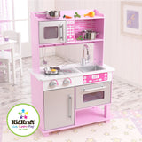 KidKraft Pink Toddler Kitchen with Accessories - Toyabella.com