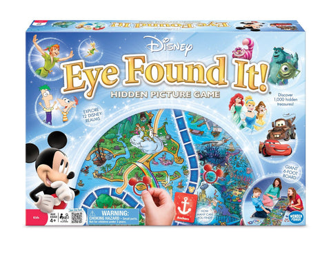Disney - Eye Found It! Game - Toyabella.com