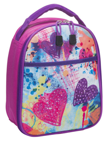 3c4g Three Cheers for Girls Sparkling Hearts Lunch Cooler - Toyabella.com