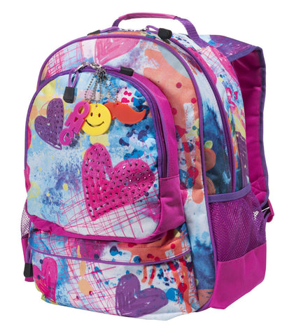 3c4g Three Cheers For Girls Sparkling Hearts Backpack - Toyabella.com