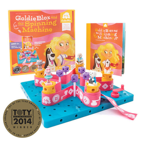 Goldieblox and the Spinning Machine - Toyabella.com