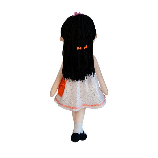 My Friend Huggles Soft, Life Size Doll, Bia / Virtue: Fair Boutique Collection - Toyabella.com