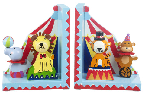 Vintage Circus Bookends by Orange Tree Toys - Toyabella.com