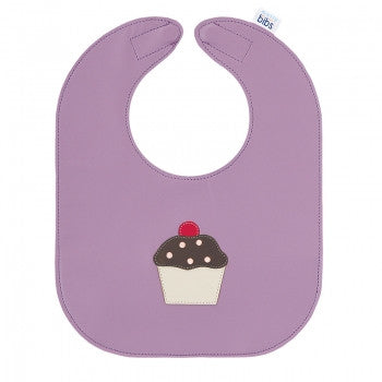 Cupcake Leather Bib - Toyabella.com