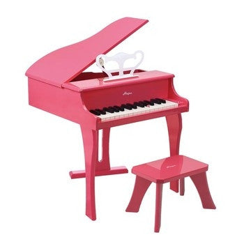 Hape Toys Happy Grand Piano, Pink - Toyabella.com