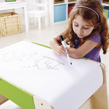Hape Play Station and Stool Set - Toyabella.com