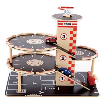 Hape Toys Park and Go Garage - Toyabella.com