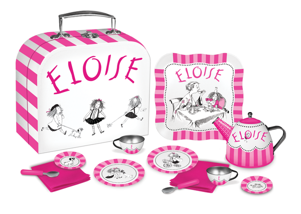 Eloise Tin Tea Set for Two (12 pieces) - Toyabella.com