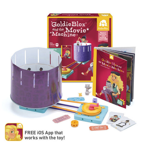 Goldieblox and the Movie Machine - Toyabella.com