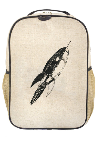 SoYoung Grey Rocket Grade School Backpack - Toyabella.com