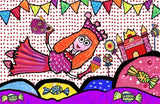 Emily Green's Imagination Placemat - Pinky Sweet - Toyabella.com