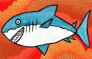 Emily Green's Imagination Placemat - Shark Ahoy - Toyabella.com