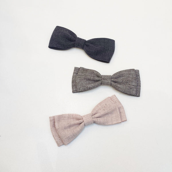 Neutral Bow Tie by Oli & Belle - Toyabella.com