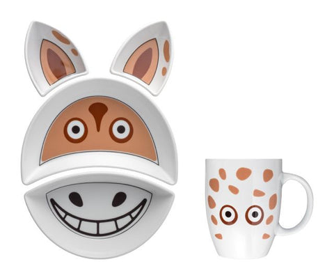 HORSE Kit Pappa Plate & Cup Set by Flowerssori - Toyabella.com