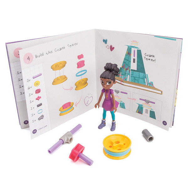 Goldieblox Ruby's Sky-High Cable Car - Toyabella.com