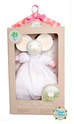 Meiya the Mouse Soft Rattle Toy by Meiya & Alvin - Toyabella.com