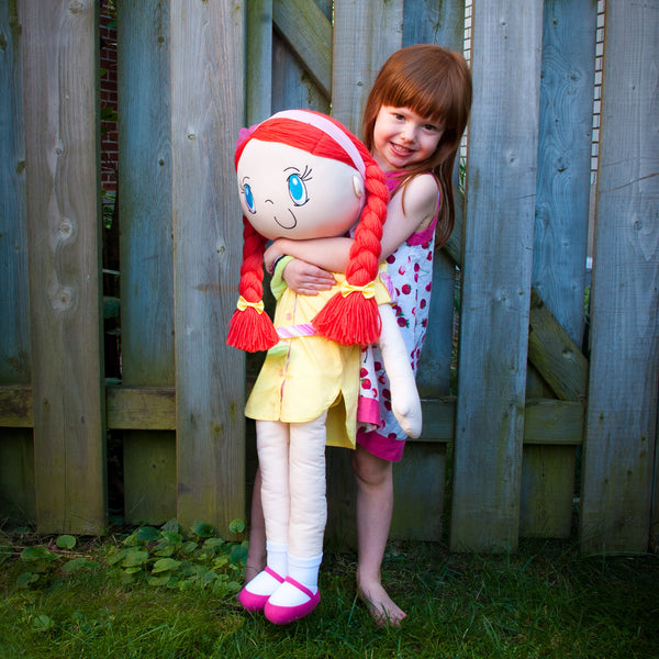 My Friend Huggles Soft, Life Size Doll, Mia / Virtue: Honest Boutique Collection - Toyabella.com